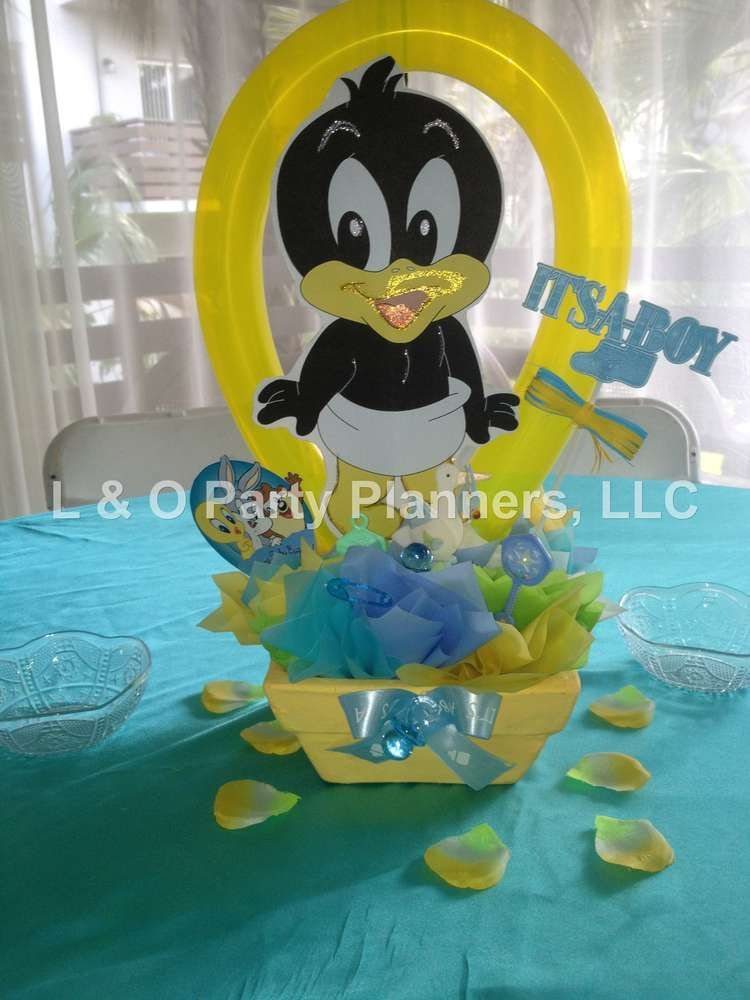 Baby Looney Toons Baby Shower Theme : looney, toons, shower, theme, Looney, Tunes, Shower, Party, Ideas, Photo, Tunes,, Shower,