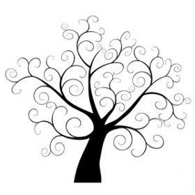 tree silhouette clipart 7 300x300 wall murals pinterest tree rh pinterest com tree silhouette clip art free download tree silhouette free clipart
