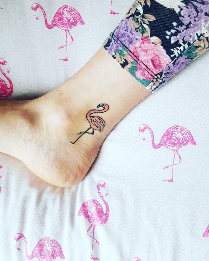 794e3ba0d Small Flamingo Tattoo | Flamingo Tattoo | Flamingo tattoo, Florida ...