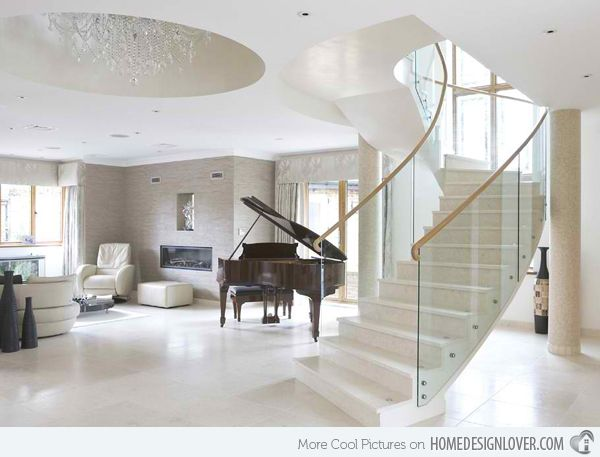 Best 15 Concrete Interior Staircase Designs Modern Staircase 640 x 480