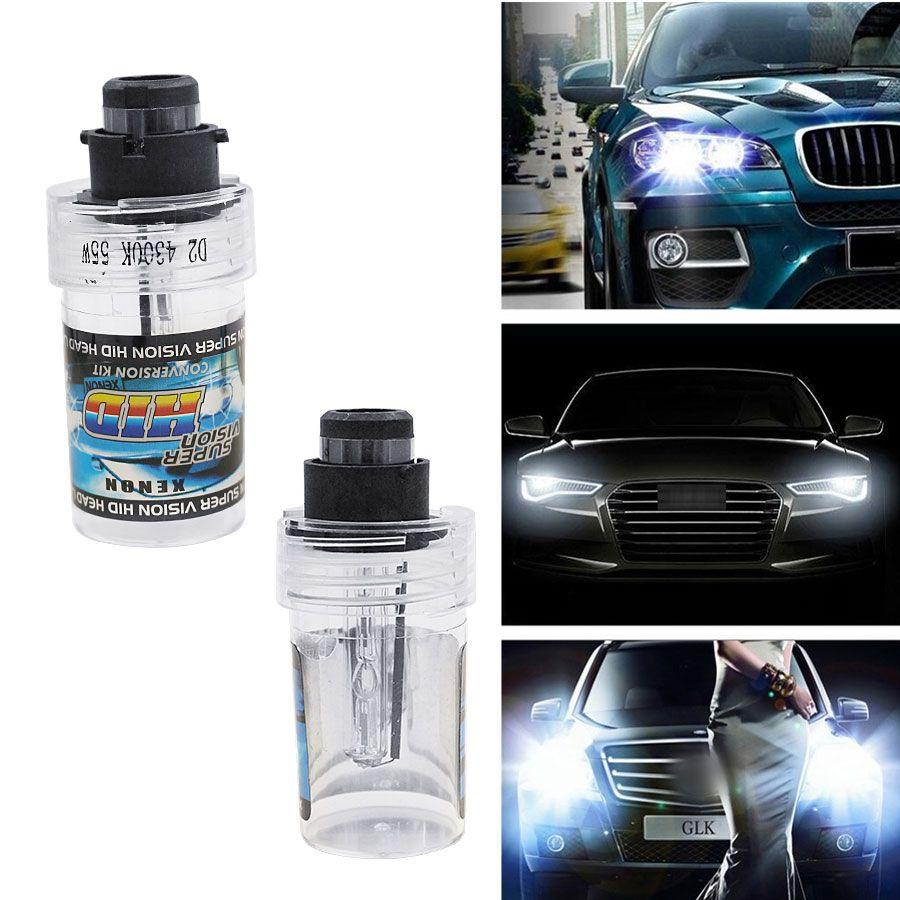 10000K Hid Xenon H7 High Beam Headlights Headlamps Bulbs Pair Conversion Kit Vi9