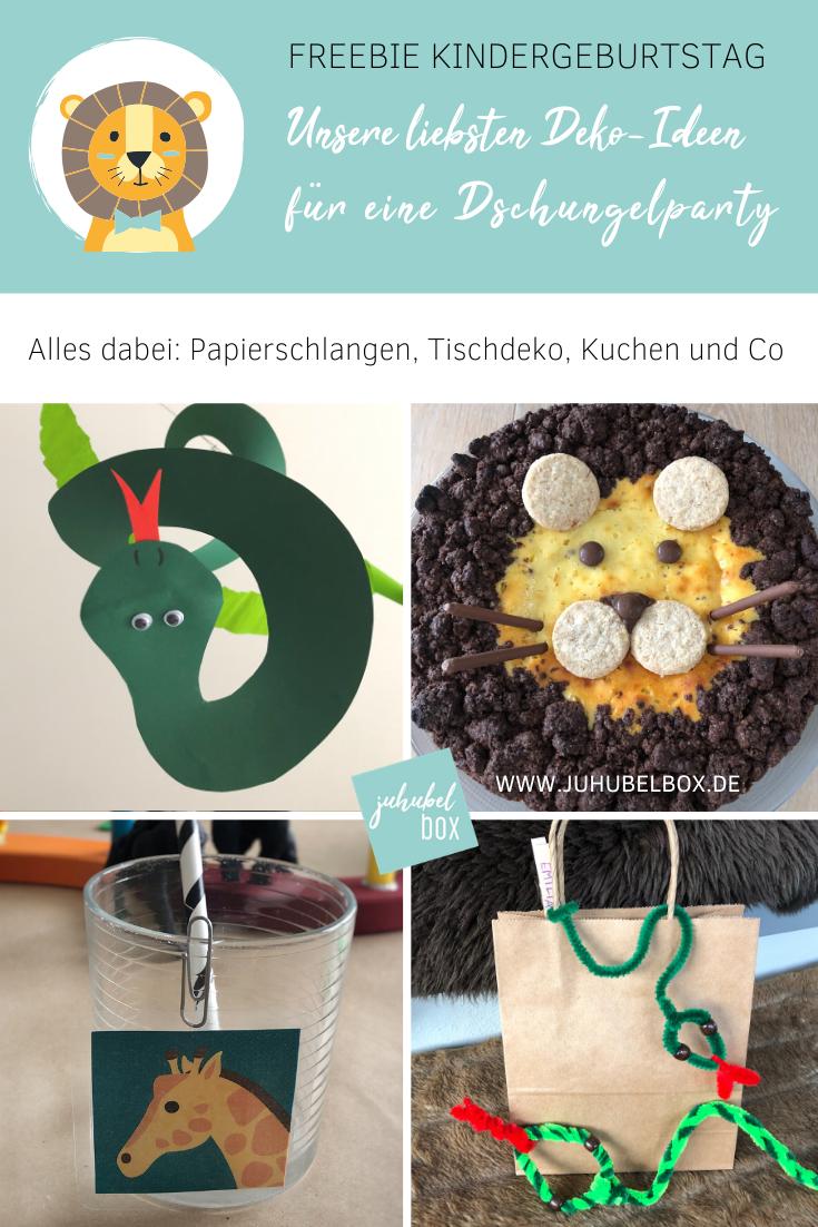 Unsere allerliebsten Dschungel-Party-Ideen: Deko, Kuchen & Co