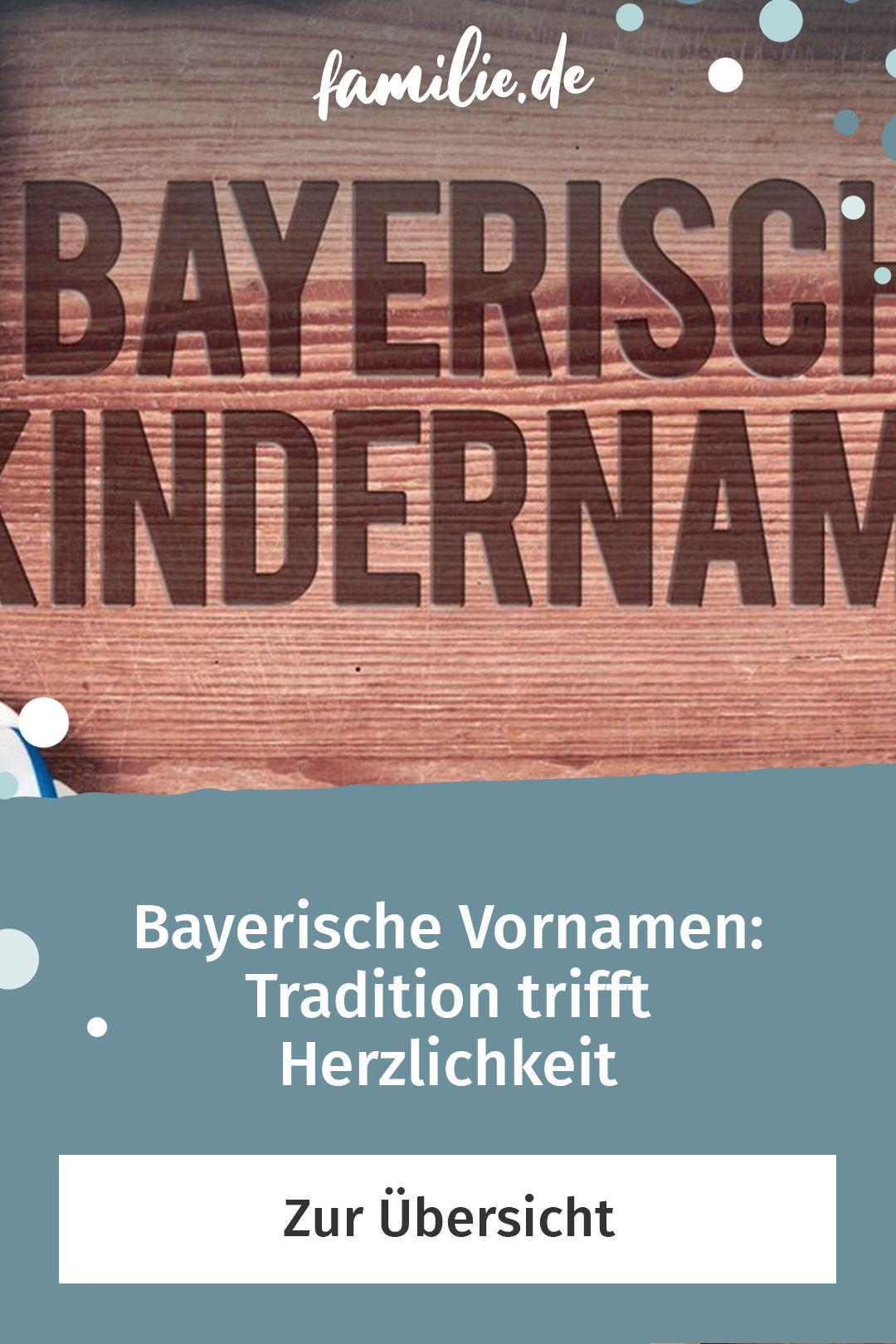 Bayerische Babynamen