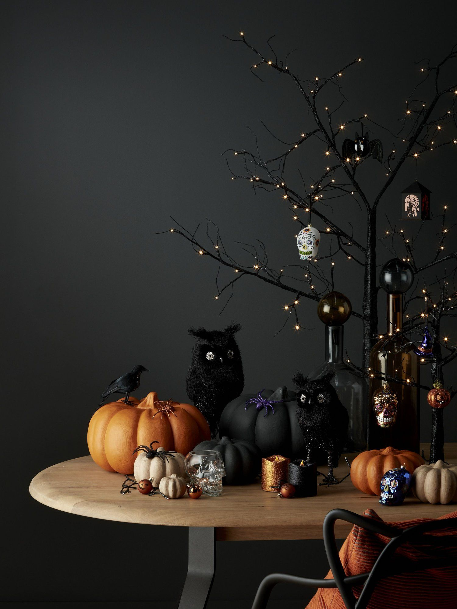 You Can Now Buy PreLit Halloween Trees From John Lewis