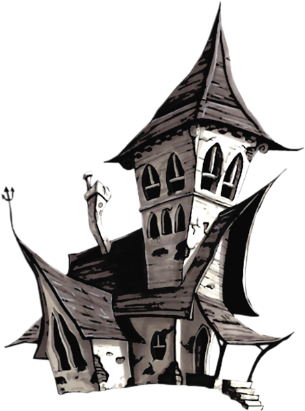 Halloween White House Png Clipart Haunted House Drawing Lantern Illustration Castle Illustration