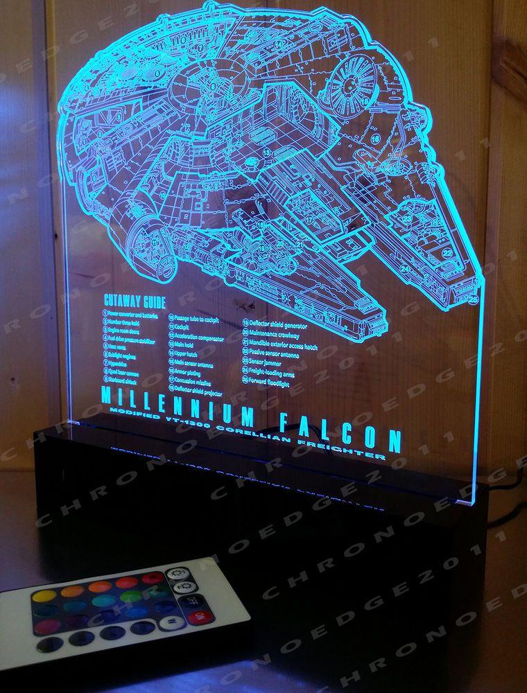 Star Wars Millennium Falcon Led Lamp Schematic Guide