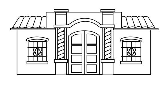 Bujos y Dibujos :: Imagen de Casa de Tucuman | Manualidades y hazlo ...