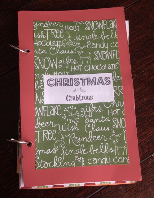 christmas memory book a way to keep up with christmas cards and sweet memories each year christmasjournal christmasmemorybook - Christmas Memories Book