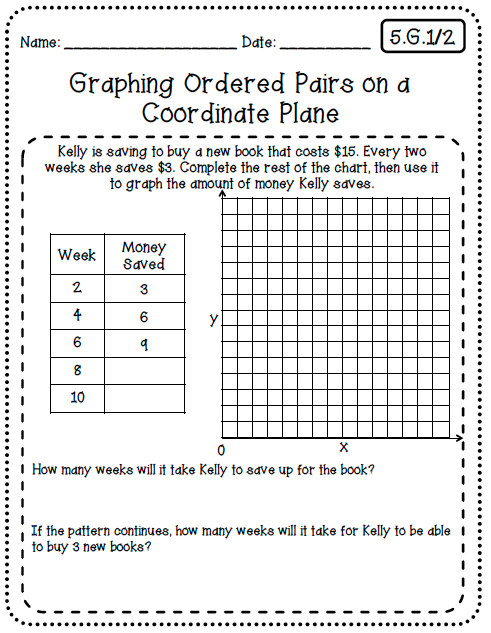 Common Core Worksheets (5th Grade Edition) (With images