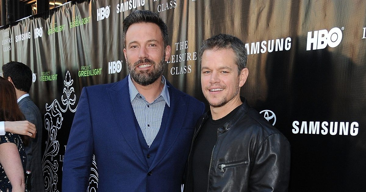 Matt Damon And Ben Affleck Fight Over Tom Brady Matt Damon Ben Affleck Hbo
