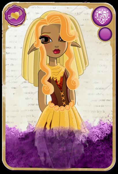 Commish: Chloe Stiltskin Rebel Card by SnowFright on DeviantArt