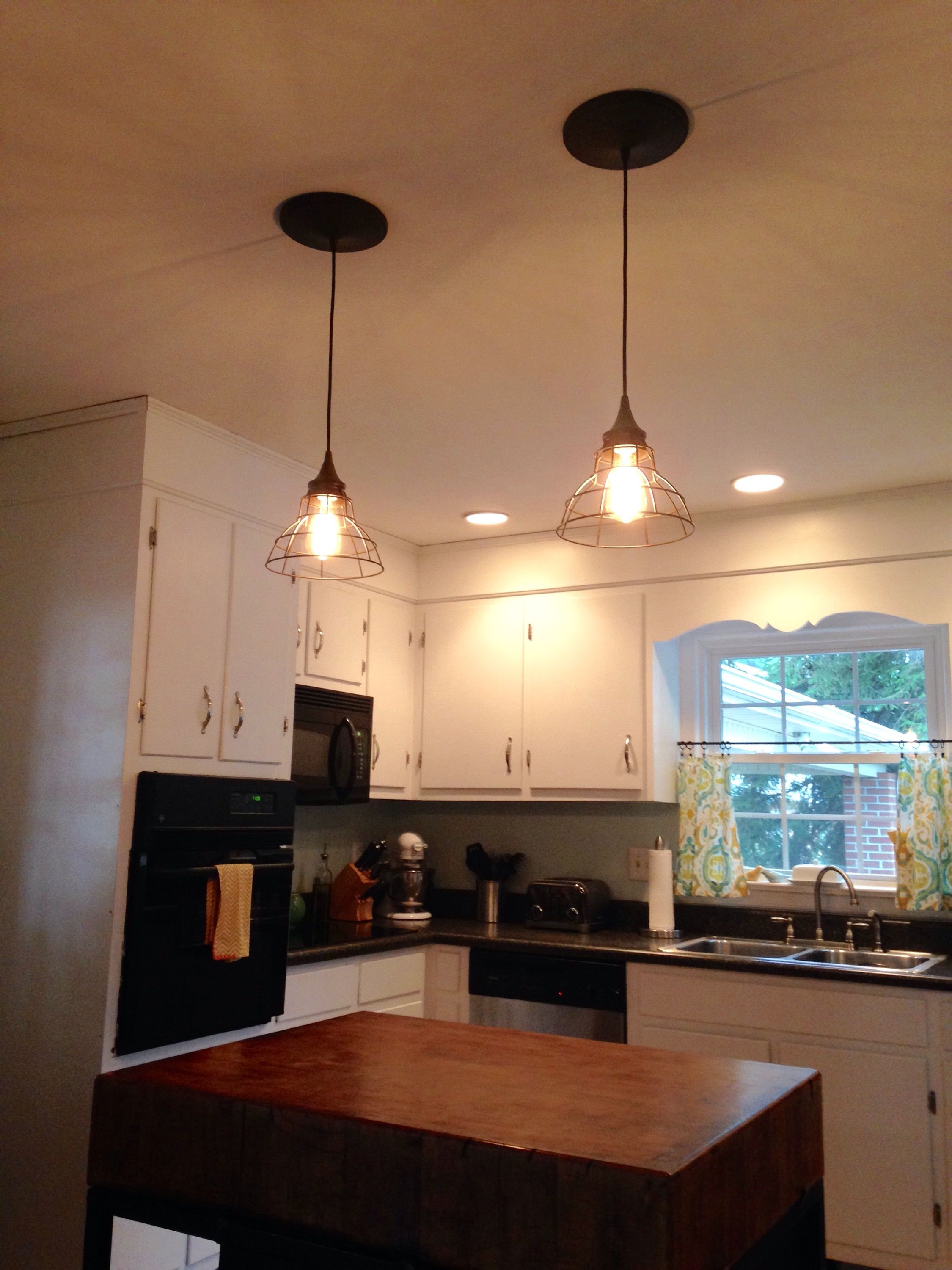 Goodbye Recessed Lights: Pendant Conversion Kit for an Easy Update ...