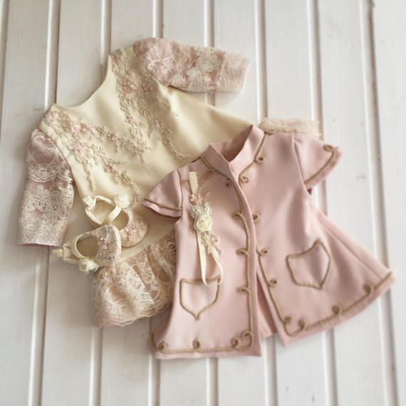 Exquisite Baby Dress Set Beautiful Dress With Luxury Lace