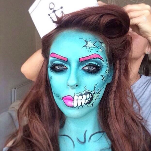 ▷ Maquillaje de Halloween Fácil ⇒ Ideas Sencillas Para Inspirarte
