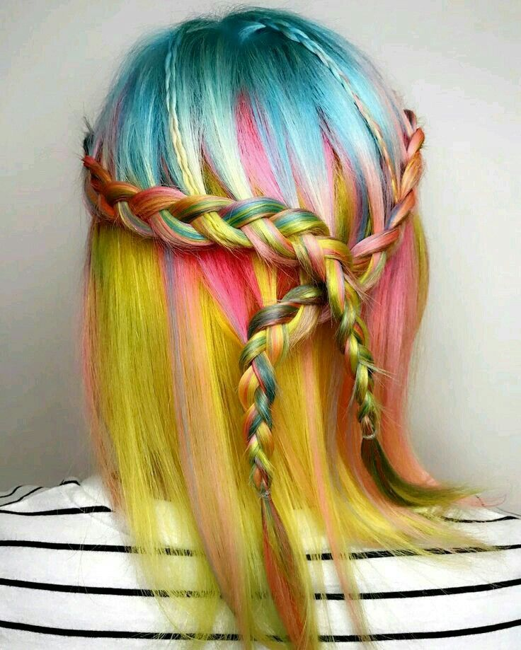 Pin By Mariam Emam On Hair Pinterest Colourful Hair