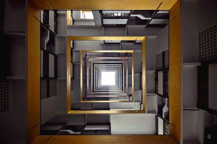 Horizon vertical, le projet vertigineux d�un photographe fran�ais qui d�voile Hong Kong sous un autre angle
