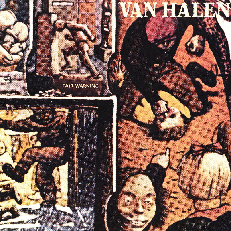 Retronewsnow On Twitter Van Halen Fair Warning Album Cover Art Van Halen