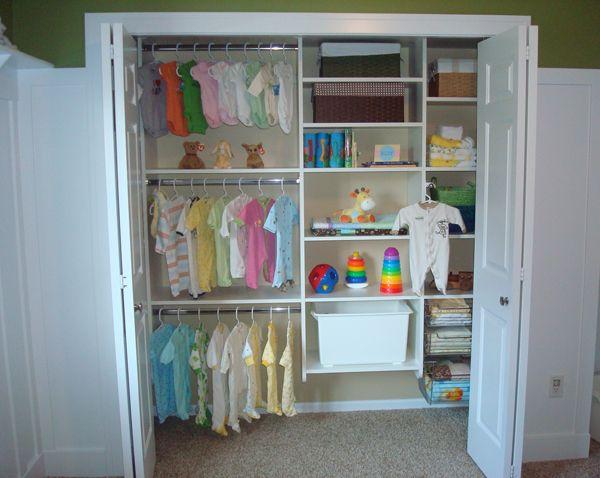 Baby Closet Makeover Container System Ikea Organizer Organization