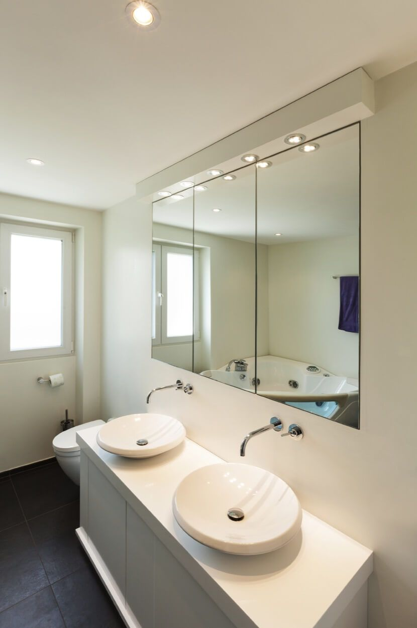 Design Your Bathroom Layout New Double Vanity Setup In Simple Bathroom Layout  Renovate Your Decorating Inspiration