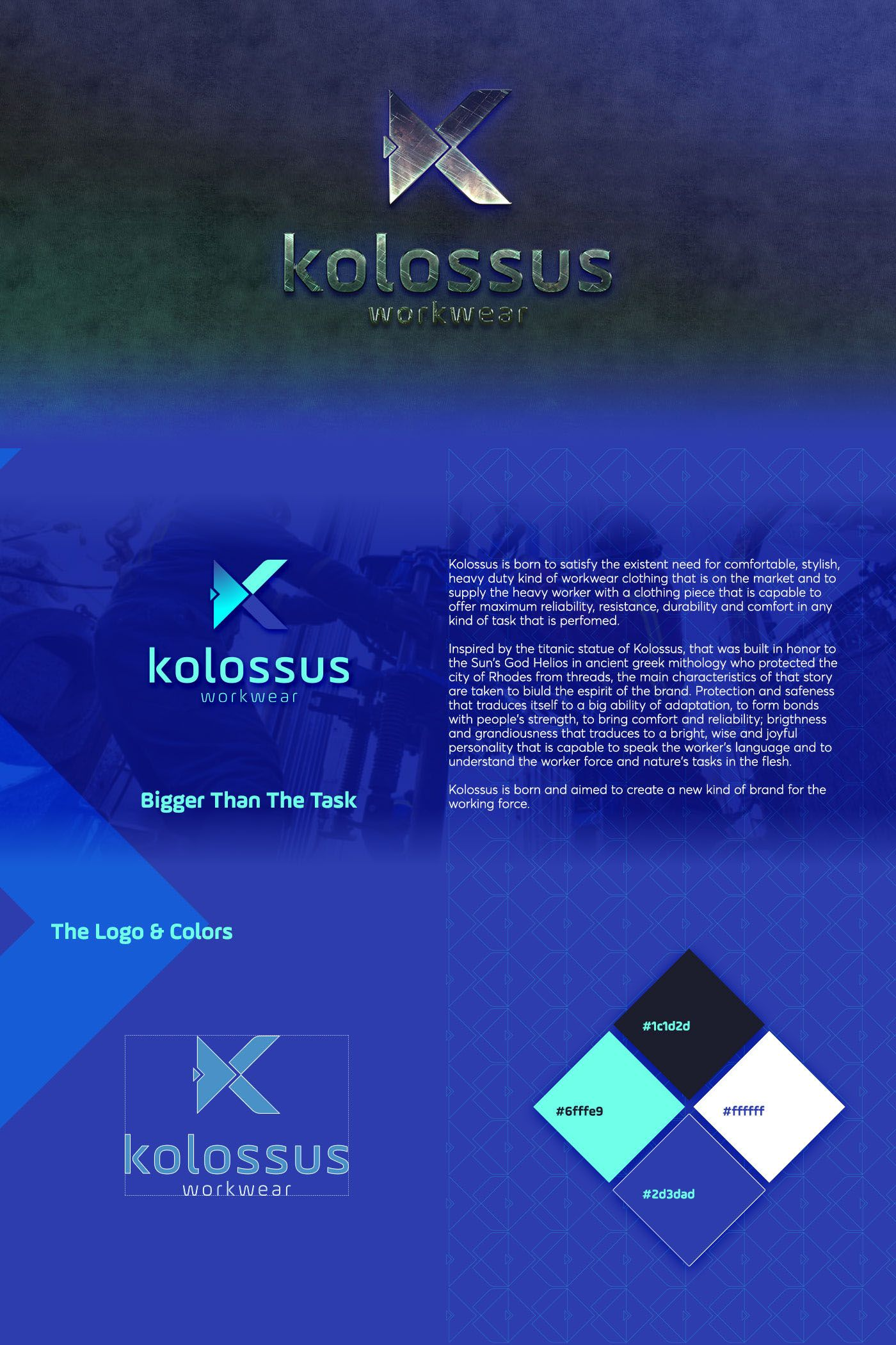 Kolossus Workwear on Behance