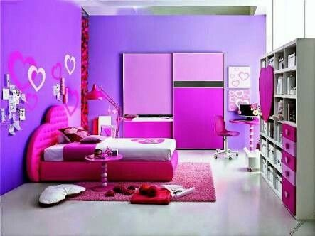 Wall paint for girls