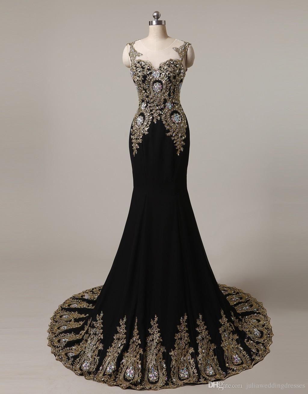 new black blue long lace mermaid formal evening dresses scoop