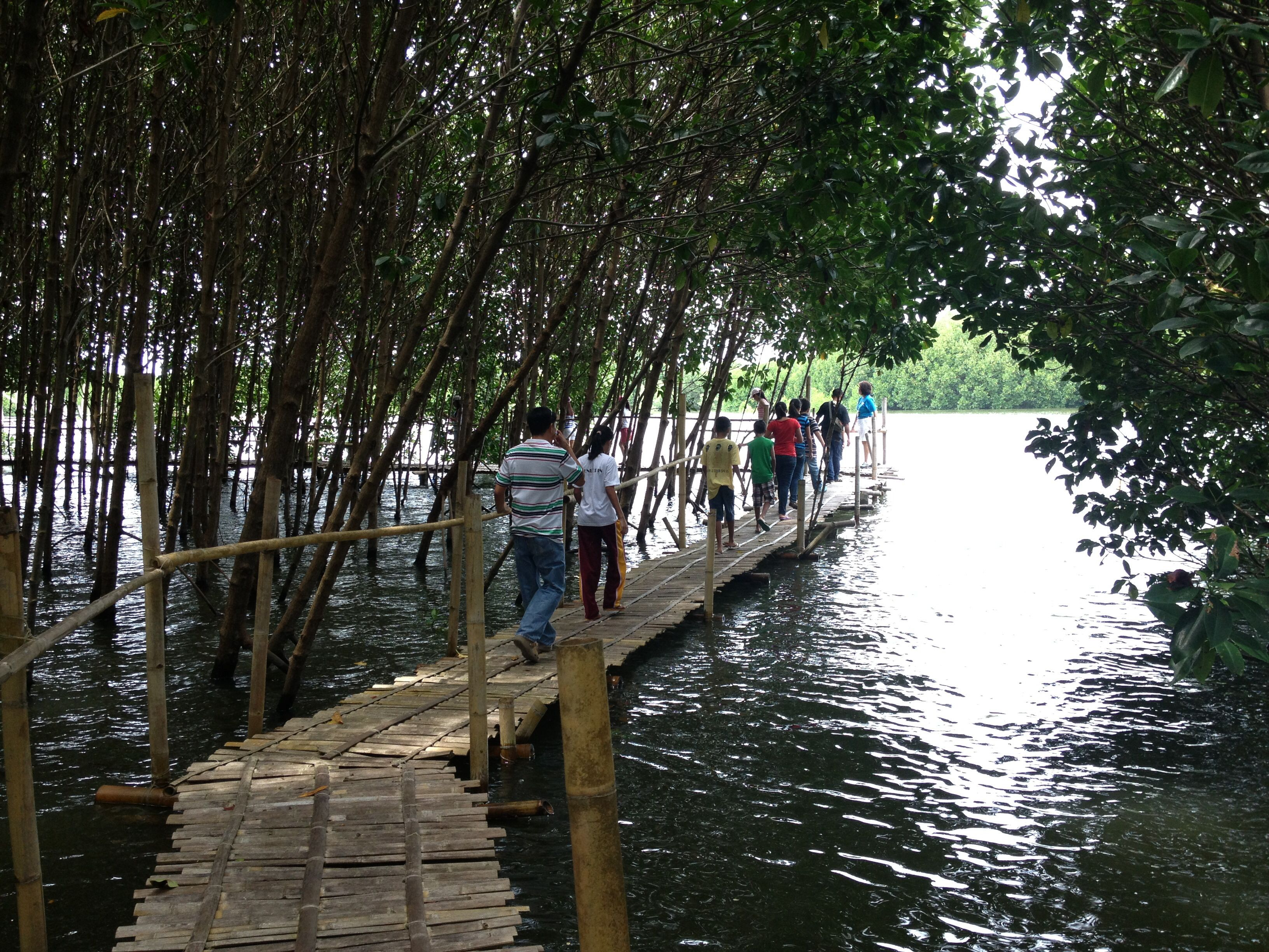 Capispisan mangrove park new washington aklan travel for Filipino landscape architects