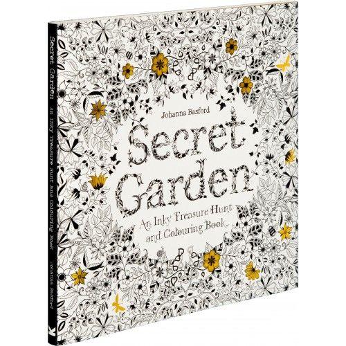 Johanna Basfords Famous Colouring Book