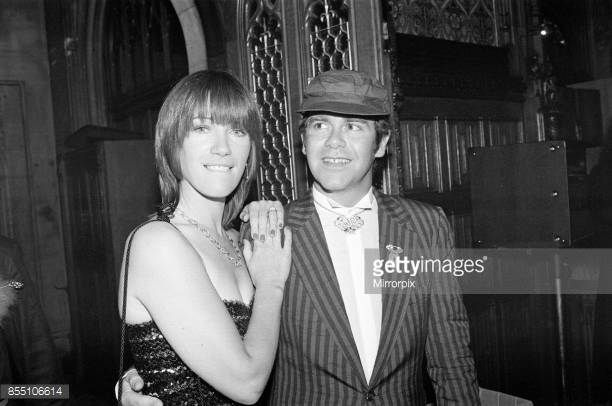 Kiki Dee and Elton John attend a House of Commons reception invited along with other pop stars by the Minister for the Arts Norman St JohnStevas 3rd...