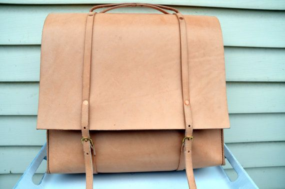 HANDMADE LEATHER BAG by Little Lion Man  by LITTLELIONMANLEATHER, $300.00