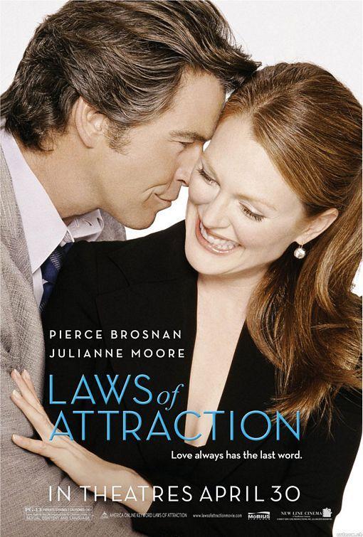 Laws Of Attraction Pierce Brosnan Portadas De Películas Michael Sheen