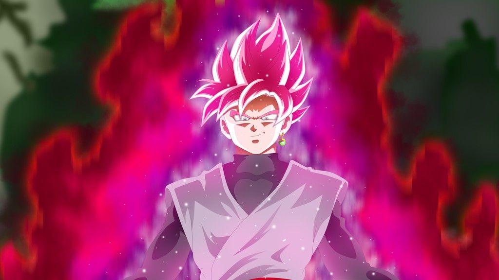 Super Saiyan Rose Wallpaper Hd: Black Goku, Dragon Ball Super, Anime Boy Wallpaper