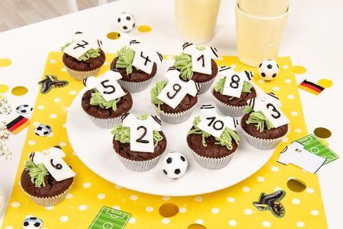Fussball Schoko Muffins