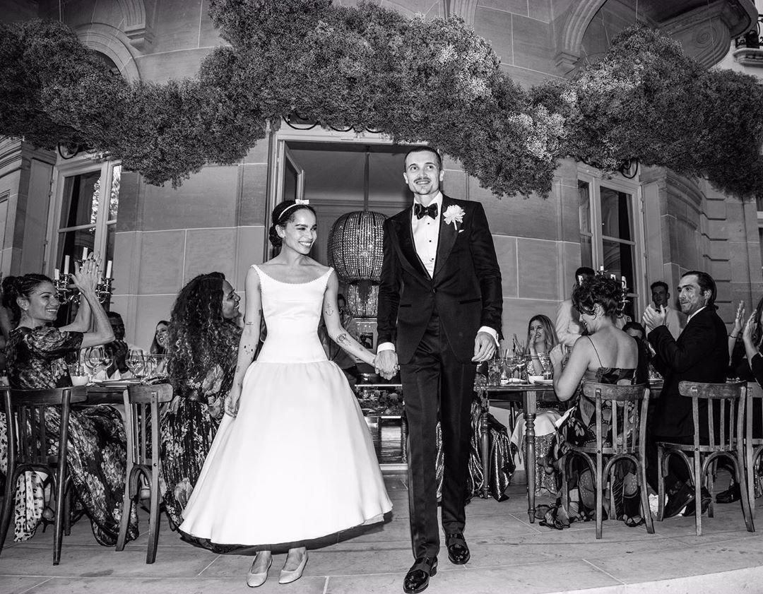 Photo of Zoë Kravitz & # 39; Wedding Dress: Get the Look