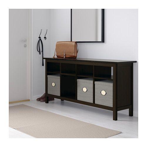 Hemnes Coffee Table Black Brown 118x75 Cm: Furniture And Home Furnishings