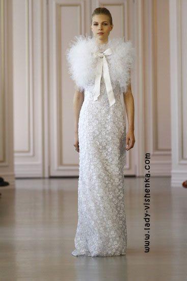 23. Weiße brautkleider Oscar De La Renta | Brautkleider | Pinterest