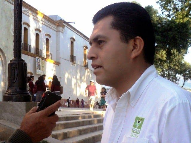 """REDACCIÓN"""" La Noticia con Verdad"""": Niega vocero del PVEM en Oaxaca, haber dado confer..."""