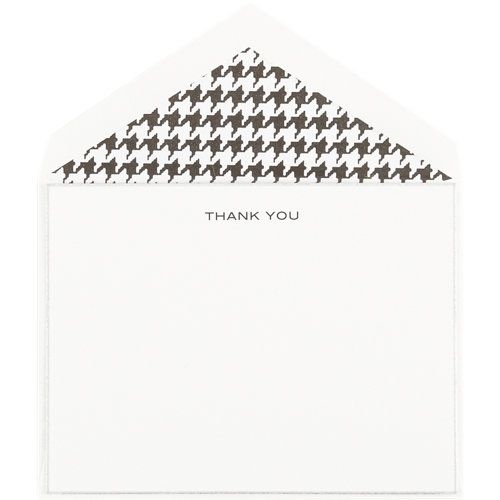 "Connor ""Thank You"" Notecard Set"