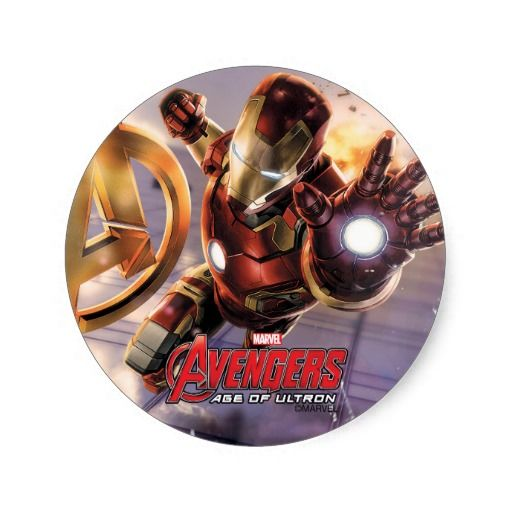 Iron Man Flying Along Skyscraper Classic Round Stickers For Parties Stocking Stuffers Etc Iron Man Avengers Iron Man Wallpaper Iron Man Flying