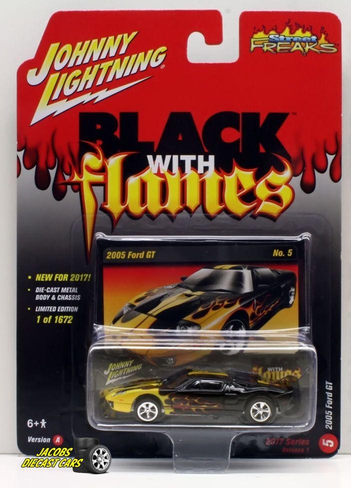 1 64 Johnny Lightning Street Freaks 2017 Release 1a 2005 Ford Gt Johnnylightning Ford Ford Gt Ford Lightning Cars
