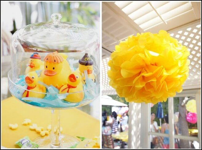 Rubber Ducky Baby Shower Ideas Cake And The