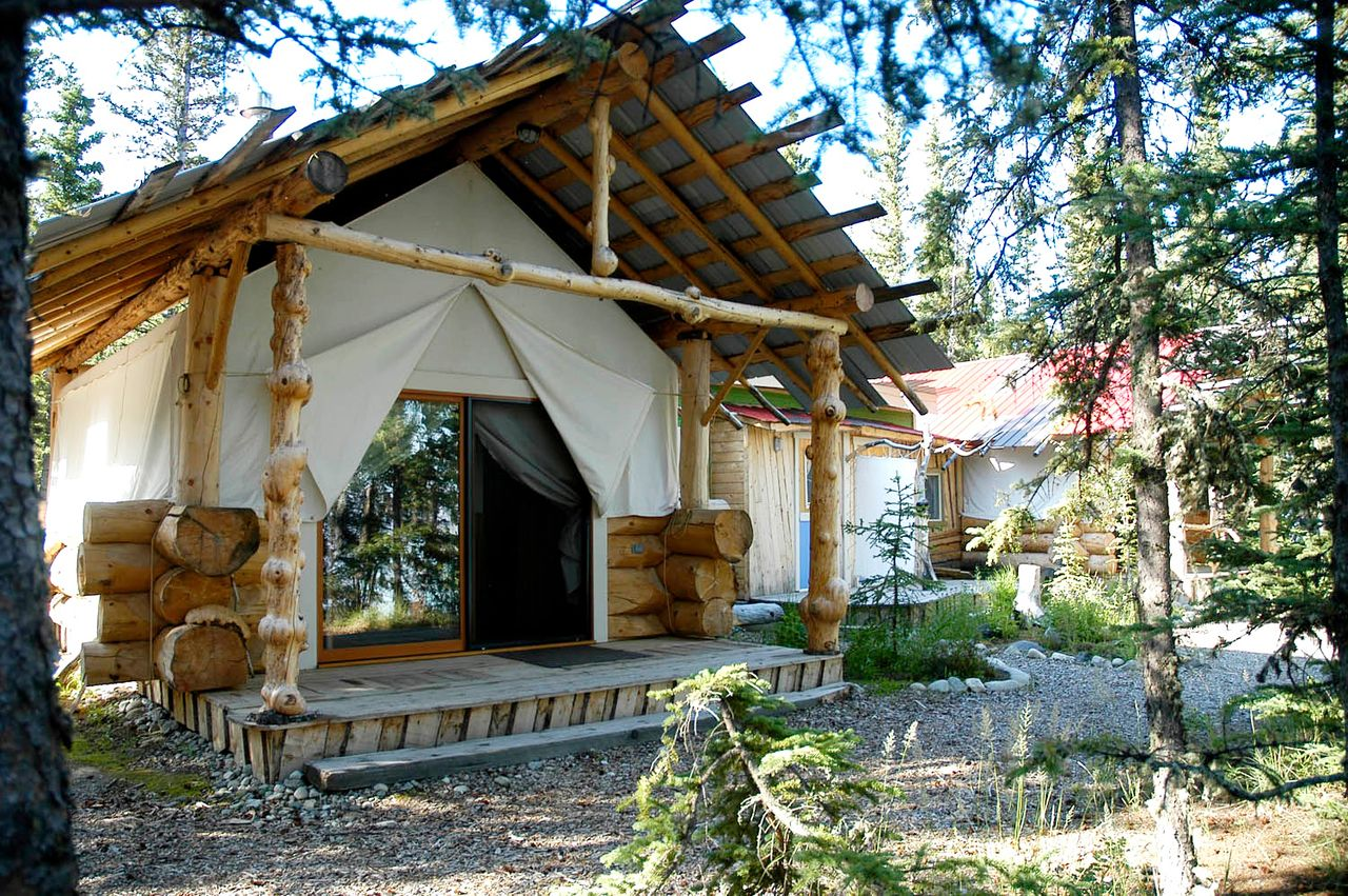 The cabins of Great River Journey are fashioned in the style of frontier wall tents with & The cabins of Great River Journey are fashioned in the style of ...