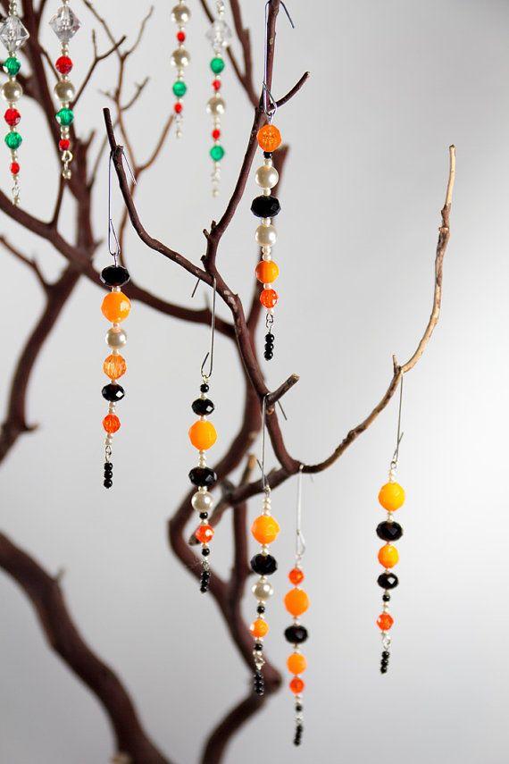halloween ornaments | Halloween ornaments, Halloween beads ...