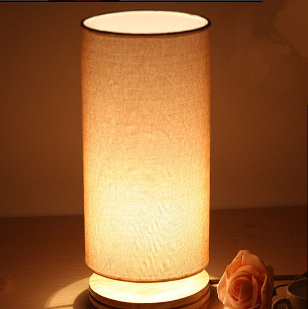 Cheap led table lamps buy directly from china suppliers note dear cheap table wire buy quality lamp directly from china table lamp desk suppliers modern table lamp wood light led light cloth lamp cylindrical shade bed greentooth Choice Image
