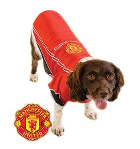 Official Manchester United Dog Shirt Dog Shirt Dogs Dog