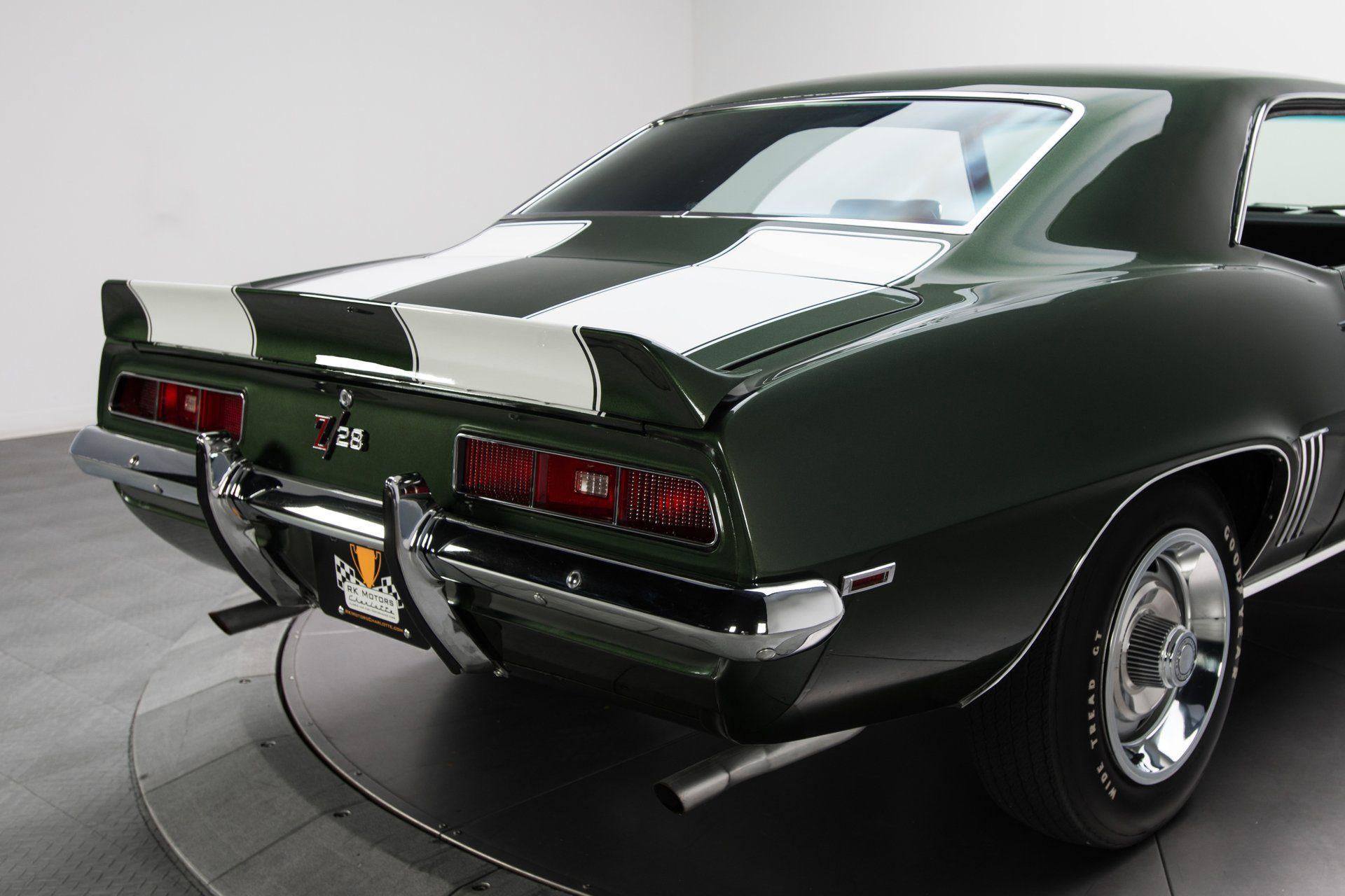 134864 1969 chevrolet camaro rk motors classic cars and