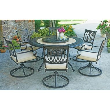 Member's Mark® Madison 8Piece Dining Set With Premium Sunbrella Beauteous 8 Pc Dining Room Set Inspiration Design