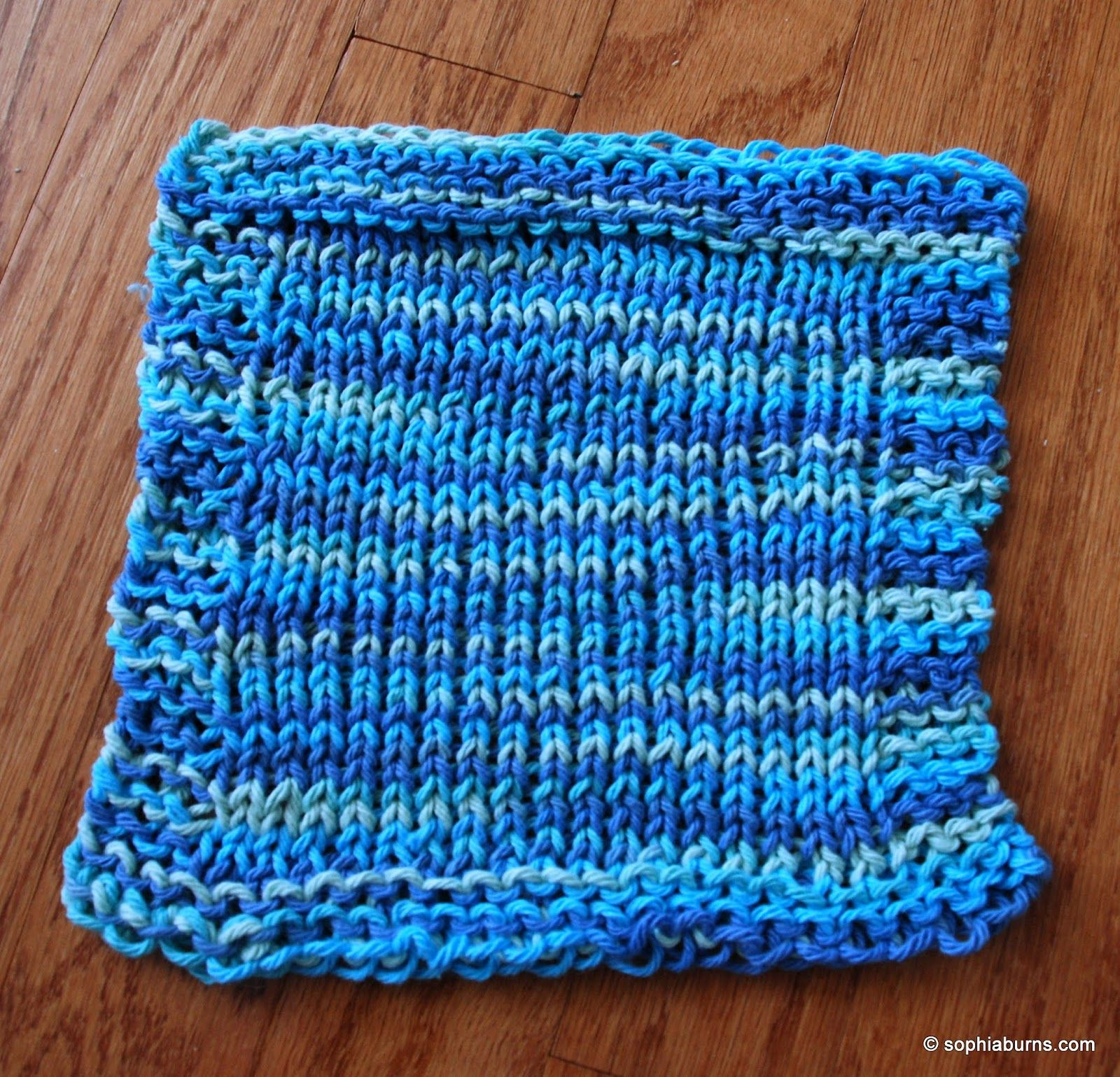 Video- Grandma\'s Dish Cloth- I follow this but use 18 pegs instead ...