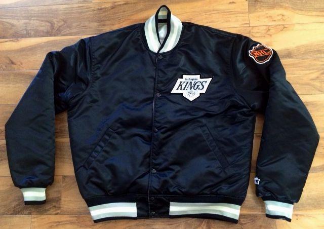 fcaaff035ee LA Kings Starter Jacket (Black Reversible)