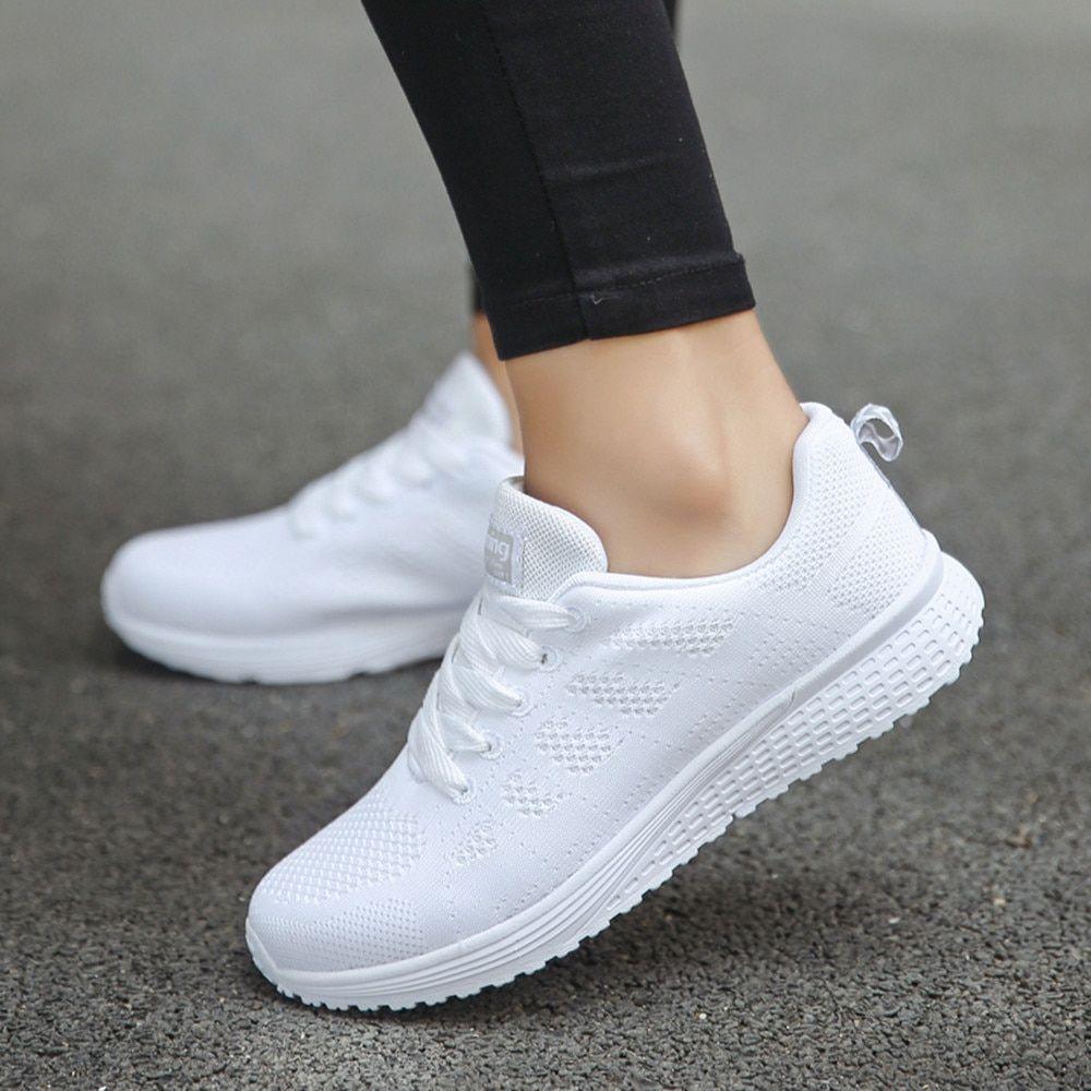 Womens Sport shoes Air cushion Running Outdoor Summer